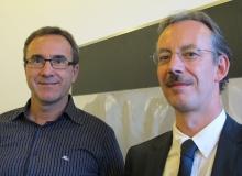 Andreas Wieland und Andreas von Sprecher