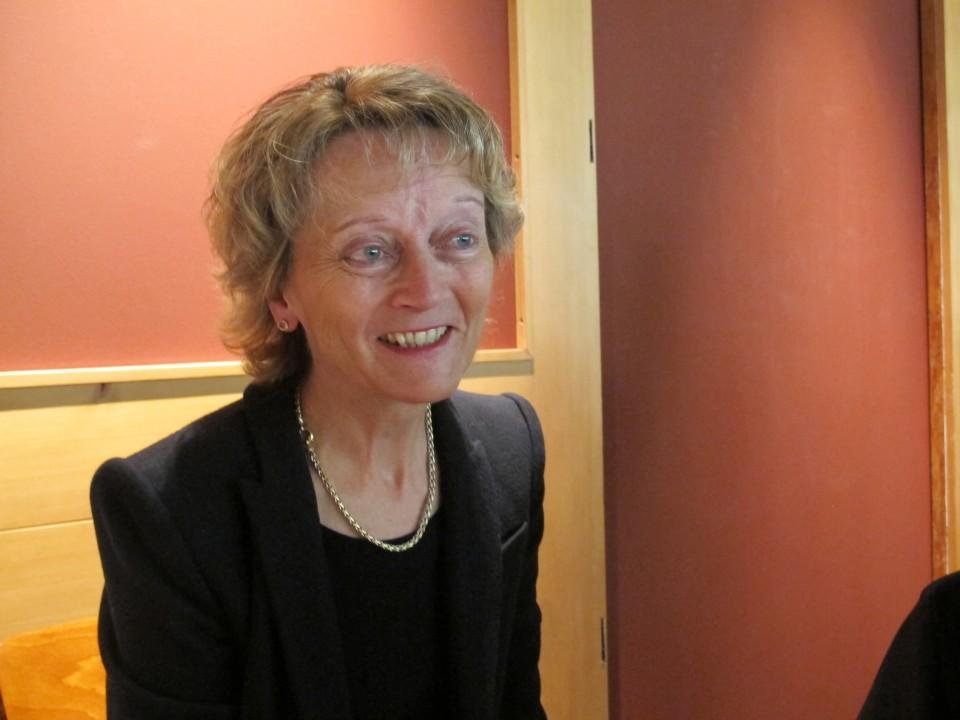 Bundesrätin Eveline Widmer